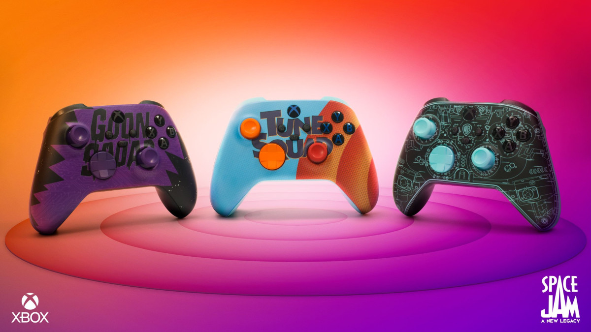 Space Jam: A New Legacy controllers
